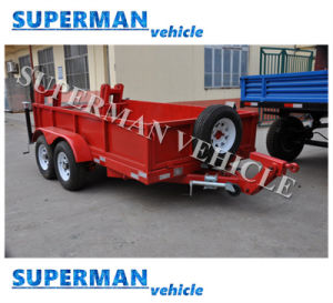 Two Axle Car Carrier Cargo Dolly Drawbar Utility Trailer pictures & photos