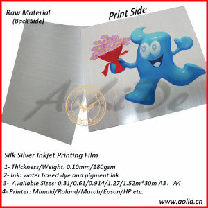 Inkjet Printing Silk Silver Metallized Photo Paper pictures & photos