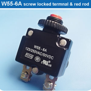 UL TUV RoHS All Kind of Thermal Circuit Breakers (W55)