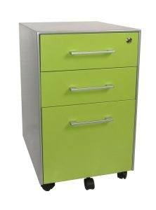 3 Drawer Under Desk Rolling File Cabinet