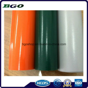 PVC Sunshade Laminated Tarpaulin Waterproof Fabric Roofing (500dx300d 18X12 340g) pictures & photos