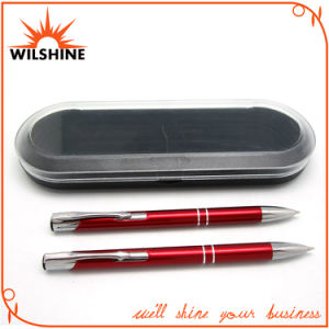 Fantastic Aluminum Pen Set for Promotional Items (BP0113RD) pictures & photos