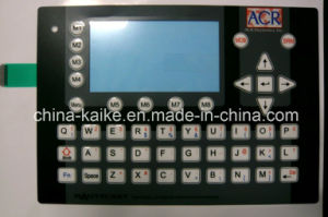 Custom Tactile Waterproof Button Membrane Keyboard with LCD Window pictures & photos