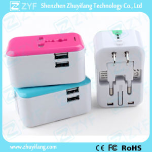 All in 1 Wall Charger Adapter with USB Charger Port (ZYF9017)