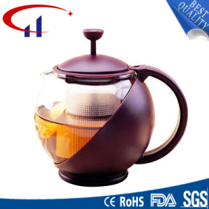Handmade High-Quanlity Best-Sell Borosilicate Glass Teapot (CHT8027)