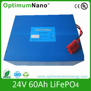 Wholesale LiFePO4 Battery24V 60ah with Deep Cycle pictures & photos