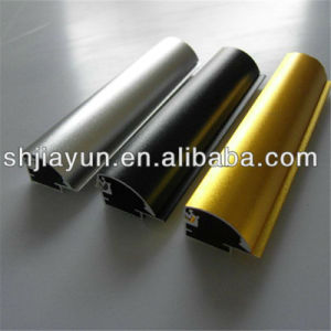Aluminium Bronze Profile Extrusion Aluminum Color Anodized Surface pictures & photos