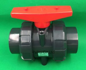 UPVC Plastic Ball Valve PVC Articulated by The Ball Valve Ball Valve Anti-Corrosion Ball Valve Dn65 (75mm)