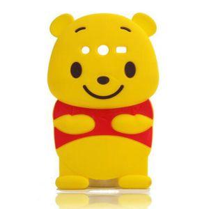 cheap for discount 4b0f1 01d50 3D Cartoon Animal Cute Winnie Pooh Soft Silicone Back Cover Case for  Samsung Galaxy J2