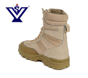 Desert Color Military Safety Boot for Army (SYSG-011) pictures & photos