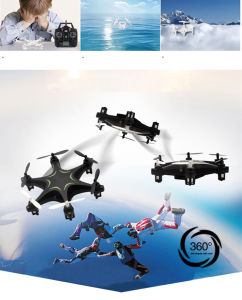 H18 Hexrcopter Drone 2.4G 4CH 6 Axis Gyro Headless Mode RTF Black