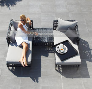 Mtc-124 Outdoor PE Rattan Furniture Wicker Lounge