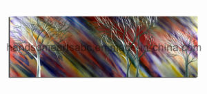 100% Handicraft Metal Painting, Metal Wall Art Decor - Colorful Graffiti Trees pictures & photos
