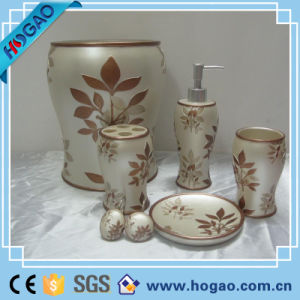 Hot-Sale Modern Resin Home Design Resin Bathroom Set pictures & photos