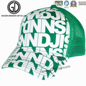 Fashion Monogram Printing OEM Breathable Baseball Cap Trucker Hat pictures & photos