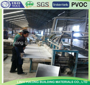 Produce Gypsum Ceiling Tile in Linyi pictures & photos