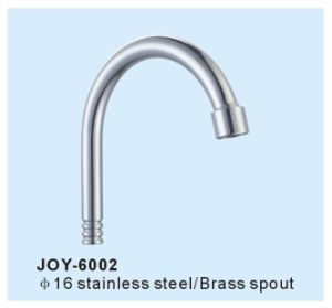 China Brass Kitchen Faucet Spout Ss Basin Tap Tube Stainless Steel