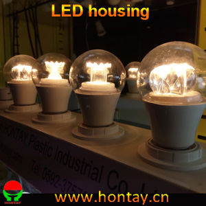 A60 LED Bulb Lamp Housing with Heat Sink