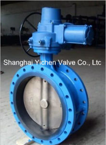 Centre Line Flange Electric Butterfly Valve pictures & photos