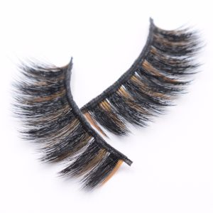 f2275546321 High Quality 3D Artificial Mink Eyelashes Synthesis False Eyelashes