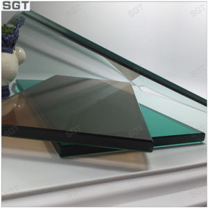 8mm Laminated Glass with Dark Green and Tea Color pictures & photos