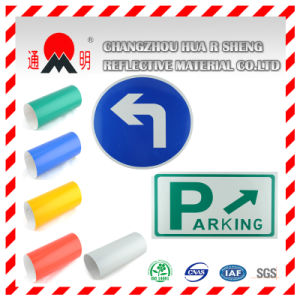 Engineering Grade Reflective Sheeting Film for Road Traffic Signs Guiding Sign Board (TM7600) pictures & photos