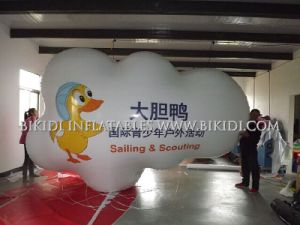 Certificated Helium Gas Balloon in Balloon Advertisement, Inflatable Helium Blimp with LED Light, Advertising Balloon pictures & photos
