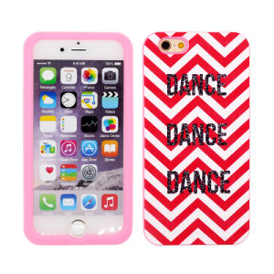 Customized Capital Dance Silicone Cellphone/Mobile Case for iPhone 4/5/6 iPad