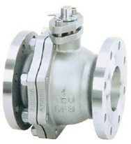API 2 PC Type Flange End Isolation Ball Valve pictures & photos