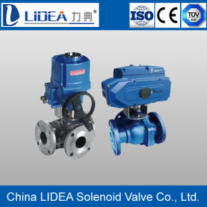 China Electric to Clip Type Ultra-Thin Ball Valve for Fluid Control