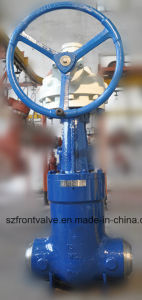 Cast Steel Gate Valve with Gear Operated pictures & photos