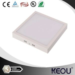 12W LED Ceiling Lights White Shell Square LED Panel Lights pictures & photos