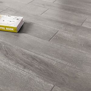 China Dark Grey Oak Hardwood Floors