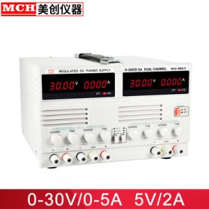 30V 3A Variable Dual Channel DC Power Supply Mch-303dii with 5V3a Fixed  Output