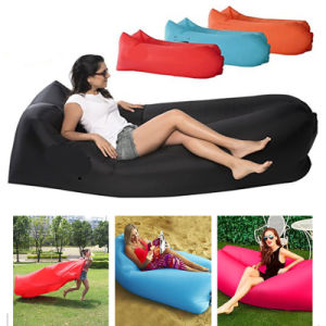 Magnificent Inflatable Air Lounger Camping Sleeping Lazy Bag Couch Bed Hangout Portable Air Inflatable Sofa For Grass Camping Beach Park Machost Co Dining Chair Design Ideas Machostcouk