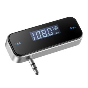 3.5mm FM Transmitter Car Charger Wireless Radio Adapter for iPhone iPod Touch