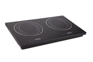 Ailipu CB/CE 3600W Sensor Touch Double Induction Cooker pictures & photos