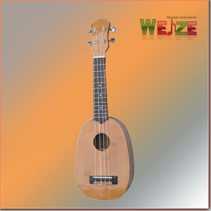 Pineapple Shaped Bamboo Hawaii Ukulele pictures & photos