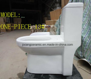Wc Hot Washdown One-Piece Toilet with Saso/Ce pictures & photos