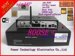 A8p SIM Card Dm 800 HD Se Cable Receiver New DVB 800 Se HD Singapore TV Box