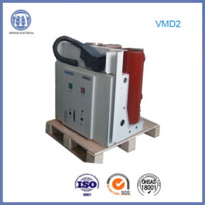 12kv-2500A Vmd High-Voltage 3 Phase Electric Vacuum Breaker with Embedded Pole