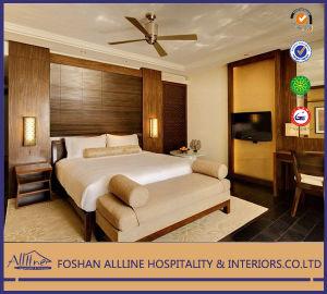 India Grand Hyatt Yd 0507 Hotel Furnitre Solid Wood Modern Luxury Fabric  Bedroom Furniture