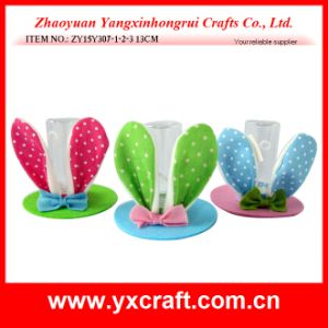 Easter Decoration (ZY15Y307-1-2-3) Easter Bunny Ear Jar Chocolate Mould pictures & photos