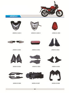 Motocicleta Arsen II Motorcycle Body Parts Accessories