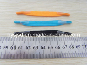 8mm*8cm Elastic No Tie Shoelace pictures & photos