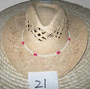 Australia Straw Surf Hat Men/ Mens Cowboy Straw Hat (DH-LH9129)