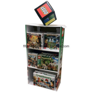 Customized Hold Earphone Pop Cardboard Display Stand with Hooks pictures & photos