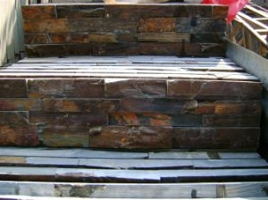 China Natural Slate Culture Stone Wall Panels (SMC-SCP288) pictures & photos