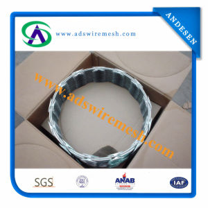 High Security Galvanized Razor Blade Barbed Wire Supplier Cbt-65 pictures & photos