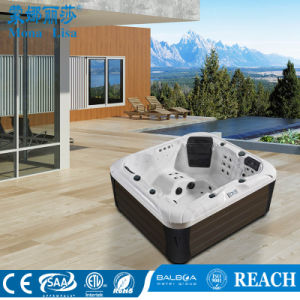 4 People Capacity Outdoor Acrylic SPA Whirlpool (M-3391) pictures & photos